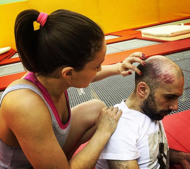 Фото травмированного Евгения Папунаишвили Инстаграм
