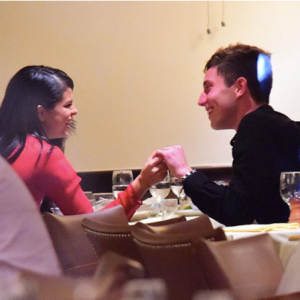Фото Селены Гомес с Самуэлем Кростом в ресторане ноябрь 2015