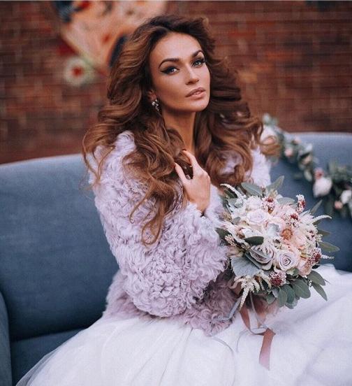 Алена Водонаева фото для свадебной фотосессии 2015