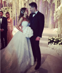 София Вергара и Джо Манганьелло в день свадьбы фото из Инстаграма