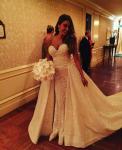 София Вергара фото в свадебном платье