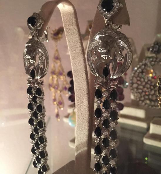 Серьги - подарок Юсифа Эйвазова Анне Нетребко, фото из Инстаграма Анны