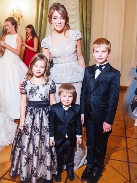 Юлия Барановская с детьми, фото из Инстаграма