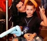 Бывшая жена Курбана Омарова фото с сыном Омаром