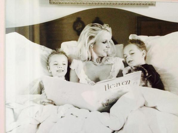 Бритни Спирс фото с сыновьями Шоном и Джейденом