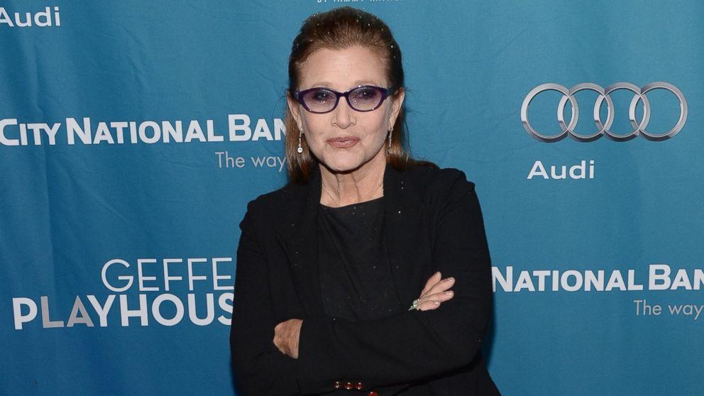 Кэрри Фишер ответила на критику своей внешности и возраста