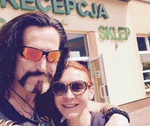 Никита Джигурда и Марина Анисина в Польше, фото из Инстаграма Джигурды