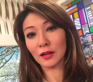 Телеведущая Марина Ким, фото из Инстаграма