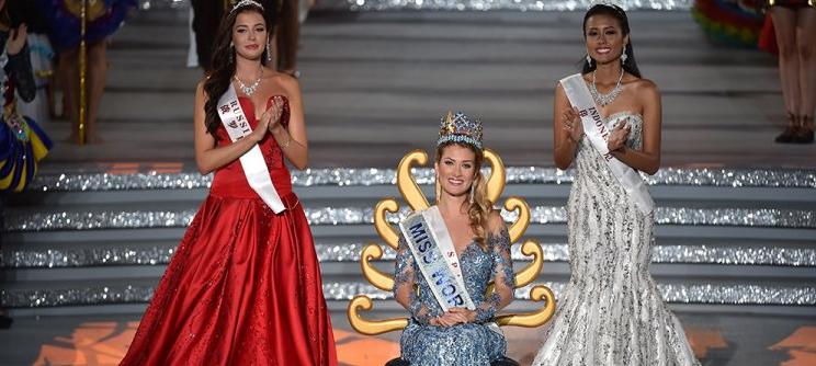 Мисс Мира - 2015: фото финалисток, София Никитчук в красном платье