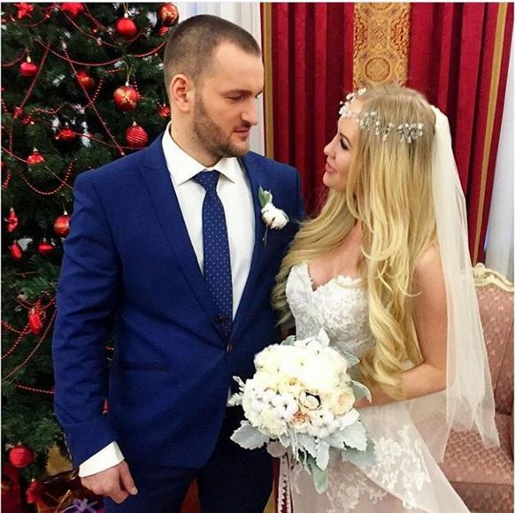 Алексей Самсонов и Юлия Щаулина поженились, фото со свадьбы