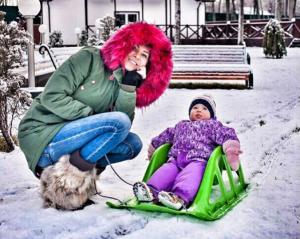 Фото Элины Карякиной (Камирен) с дочерью Сашей, Инстаграм