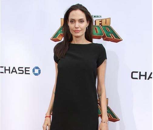 У Анджелины Джоли анорексия? Фотографии