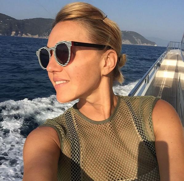 Юлия Бордовских фото сделано во время путешествия по Сардинии
