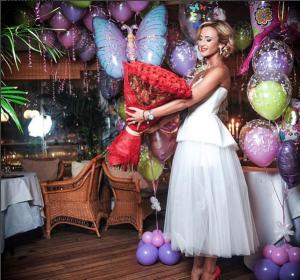Ольга Бузова фото в день рождения 20.01.2016