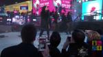 Деми Ловато фото во время выступления на Таймс-сквер в канун 2016 года
