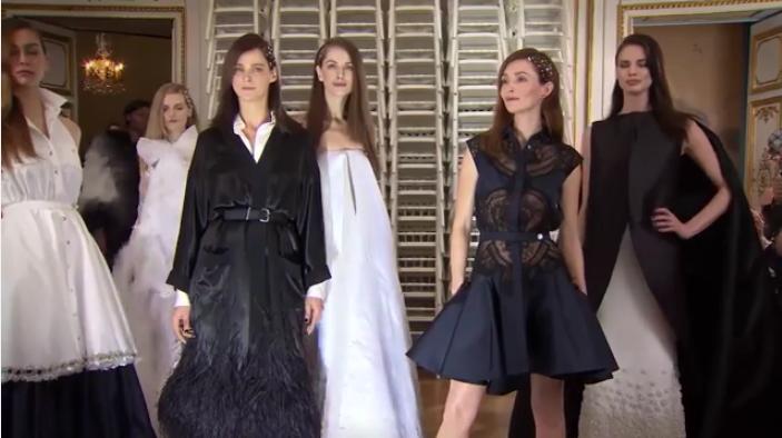 Показы высокой моды в Париже 2016: Alexis Mabille, Viktor&Rolf, Georges Hobeika, видео