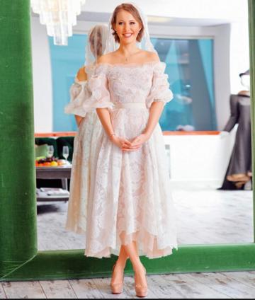Ксения Собчак фото в день свадьбы