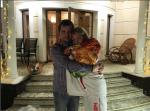 Фото из Инстаграма Анастасии Волочковой с неизвестным мужчиной