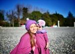Фото Маши Адоевцевой с дочерью Лизой, Инстаграм
