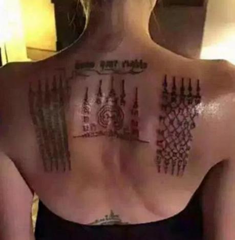 Новая татуировка Анджелины Джоли фото 2016