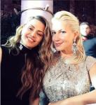На фото Екатерина Одинцова с Викторией Боней