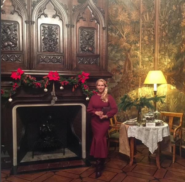 Екатерина Одинцова на приёма в посольстве Великобритании фото из Инстаграма