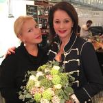 Екатерина Одинцова с Ольгой Кабо, фото 2016 Инстаграм