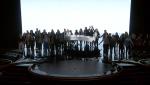 Фото окончания выступления Леди Гаги на 88-й церемонии вручения Оскаров