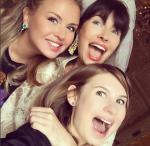 """Оксана Робски на своём """"девичнике"""" Фото из Инстаграма Анны Семенович"""