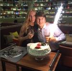 Татьяна Тотьмянина и Алексей Ягудин в день свадьбы фото из Инстаграма