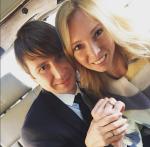 Татьяна Тотьмянина и Алексей Ягудин поженились, фото из Инстаграма татьяны февраль 2016