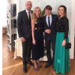 Алексей Ягудин и Татьяна Тотьмянина с гостями в день свадьбы,фото из Инстаграма