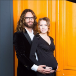 Томас Невергрин и его жена Валерия Жидкова (Кристиансен) фото 2016 из Инстаграма