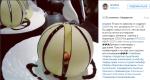 Пост в Инстаграме Тимы Брика о сладостях и снижении веса