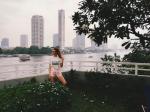Фото Алены Водонаевой во время поездки в Таиланд в феврале 2016