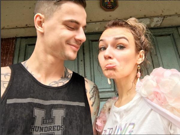 Алена Водонаева и Антон Коротков фото из Инстаграма во время отдыха в Таиланде 2016