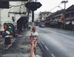 Алена Водонаева фото 2016 на улице Бангкока