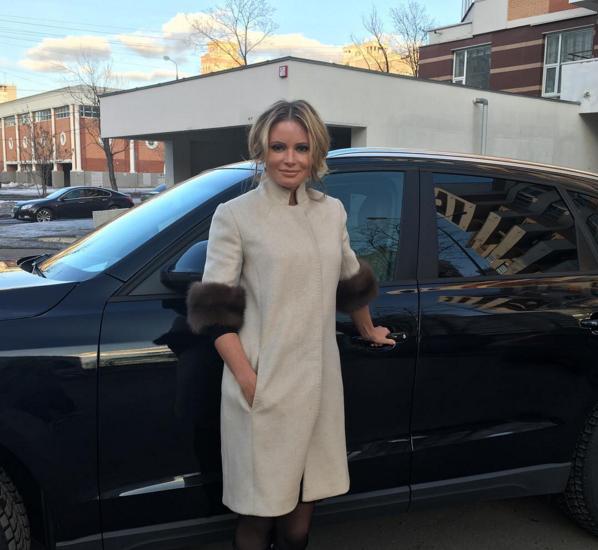 Дана Борисова попала в ДТП