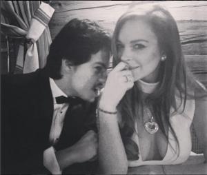 Линдси Лохан и Егор Тарабасов фото из Инстаграма
