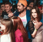 Фото Рустама Солнцева во время проведения мероприятия в клубе