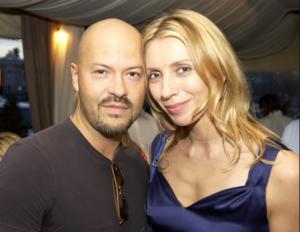 Фото Федора Бондарчука с женой Светланой