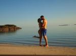 Тейлор Свифт и Кельвин Харрис во время отпуска фото март 2016 из Инстаграма