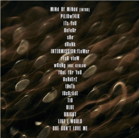"""Список песен нового альбома """"Mind of Mine"""" Зейна Малика"""