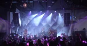 Фото Джо Джонаса и DNCE во время концерта