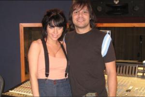 Леди Гага и Роб Фьюзари фото сделано в начале карьеры певицы