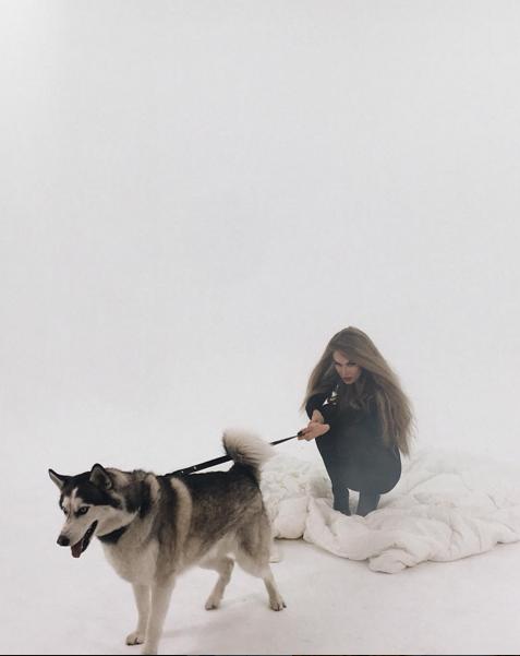 Фото со съёмок нового клипа Алены Водонаевой апрель 2016