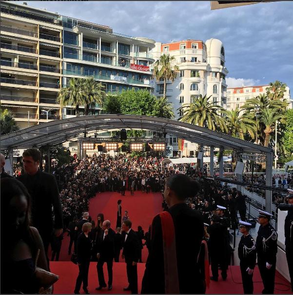 Фото из Инстаграма Виктории Бони: Каннский кинофестиваль 2016, красная дорожка