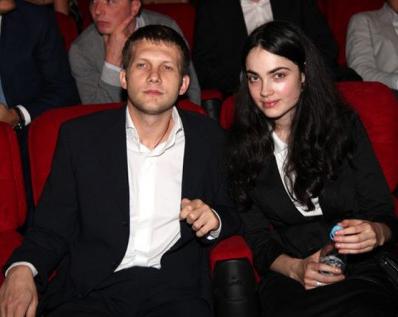 Фото Бориса Корчевникова с женой Сесиль Свердловой