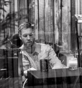 Фото Кельвина Харриса в студии звукозаписи, 2016 год, Инстаграм.
