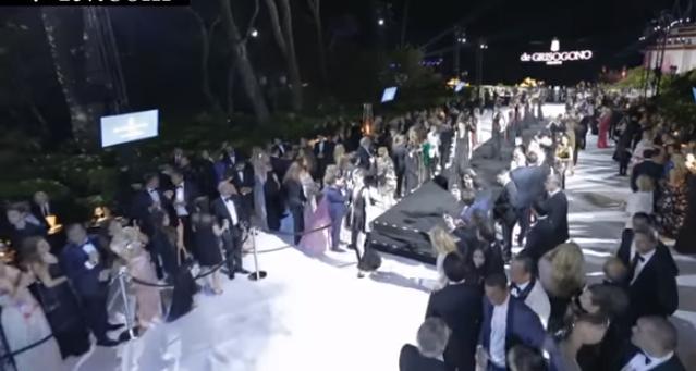Вечеринка ювелирного дома de Grisogono в Каннах 2016, видео